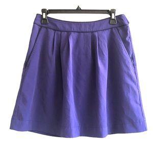 Banana Republic 4 Skirt Purple
